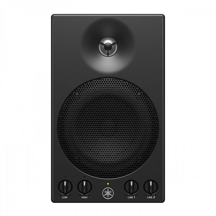 Front view of the Yamaha MSP3A Powered Monitor Speakers