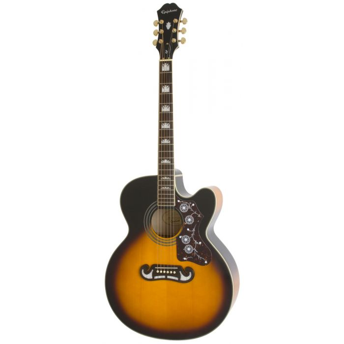 Epiphone EJ-200CE Electro Acoustic in VintageEpiphone EJ-200CE Vintage Sunburst  Sunburst