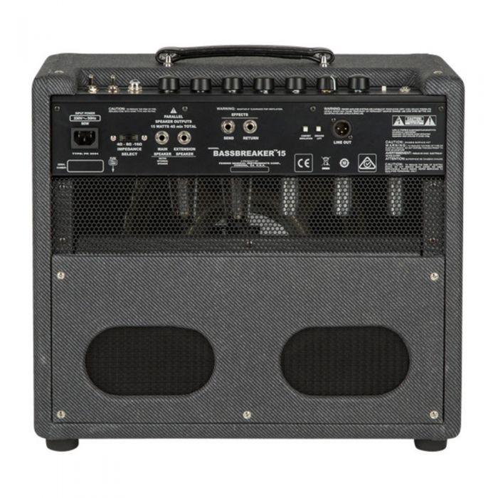 Fender Bassbreaker 15 Combo Guitar Amp Rear