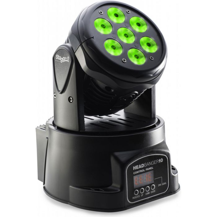 Stagg Headbanger LED Moving Head Light