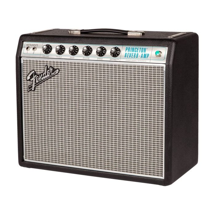 Fender 68 Custom Princeton Reverb Combo Front angle