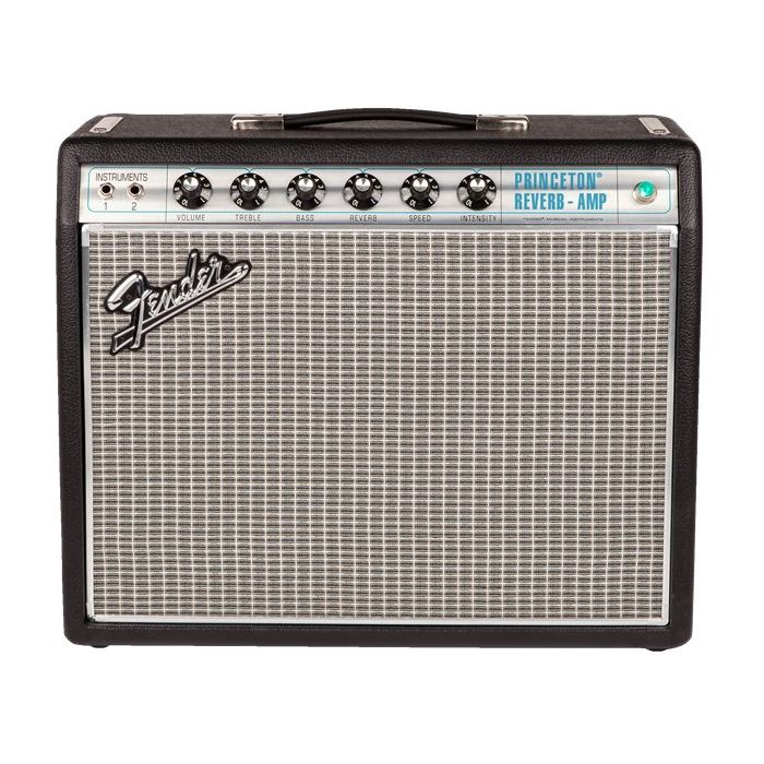 Fender 68 Custom Princeton Reverb Front