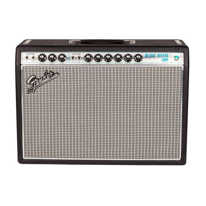 Fender 68 Custom Deluxe Reverb Guitar Amplifier Combo