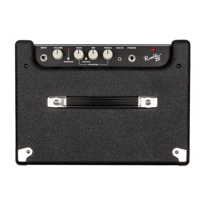Fender Rumble 25 Bass Amplifier Combo controls