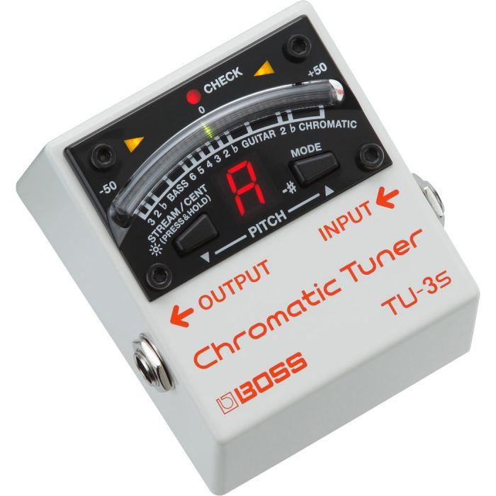 Boss TU-3S Chromatic Tuner Angle