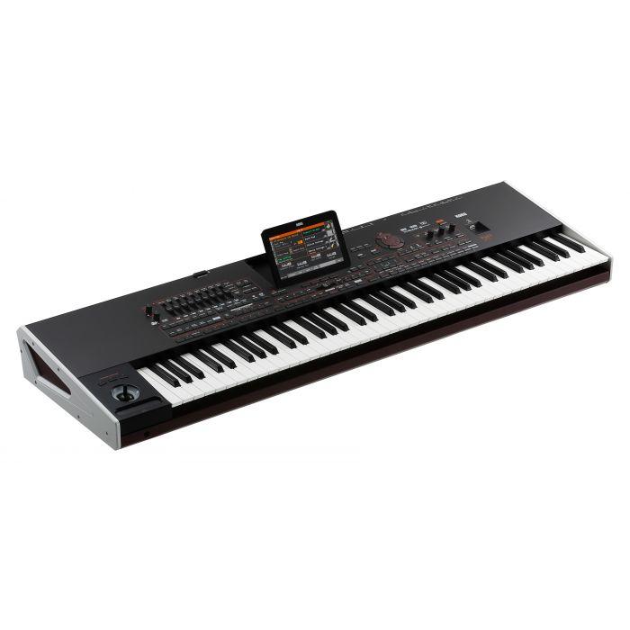 Korg Pa4X Oriental Professional Arranger Keyboard 76 Keys Angle