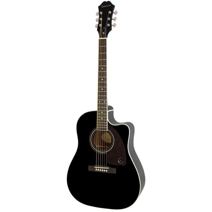 Epiphone AJ-220SCE Electro Acoustic Guitar, Ebony