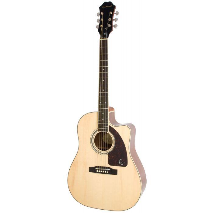 Epiphone AJ-220SCE Electro Acoustic Guitar, Natural