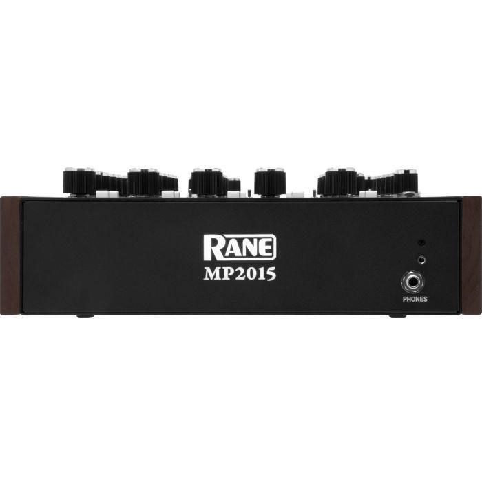 Rane MP2015 Rotary DJ Mixer Front Panel
