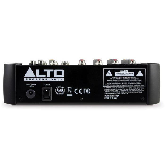 Alto Zephyr ZMX862 6 Channel Mixing Desk Rear