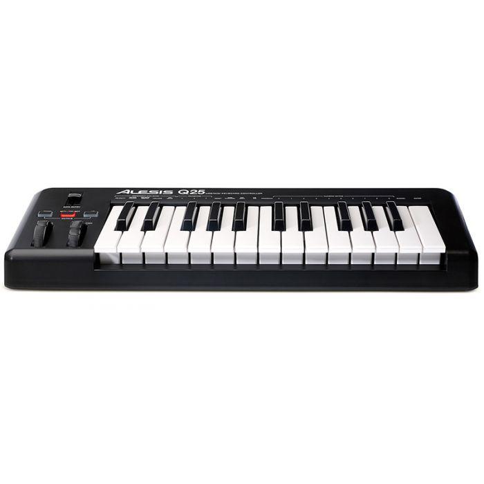 Alesis Q25 USB MIDI Keyboard Front