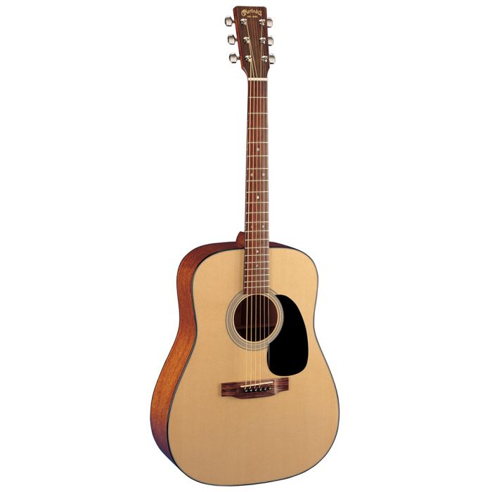 Martin D-18 Dreadnought Acoustic Guitar Angle
