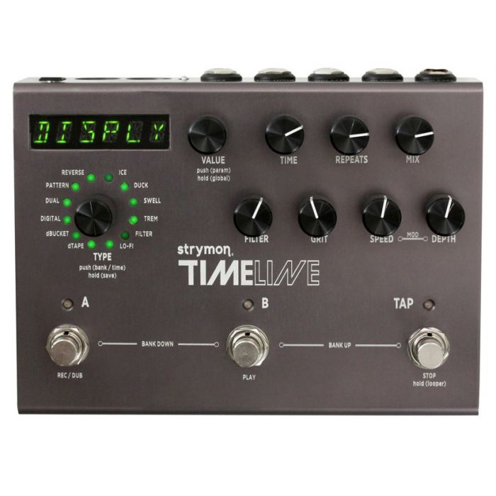 Strymon Timeline Delay Pedal Top