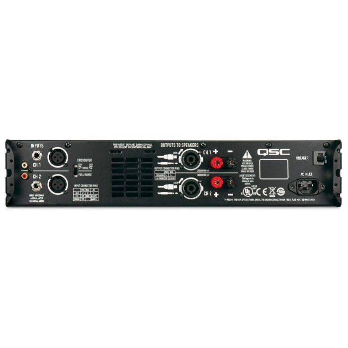 QSC GX7 Power Amplifier Rear