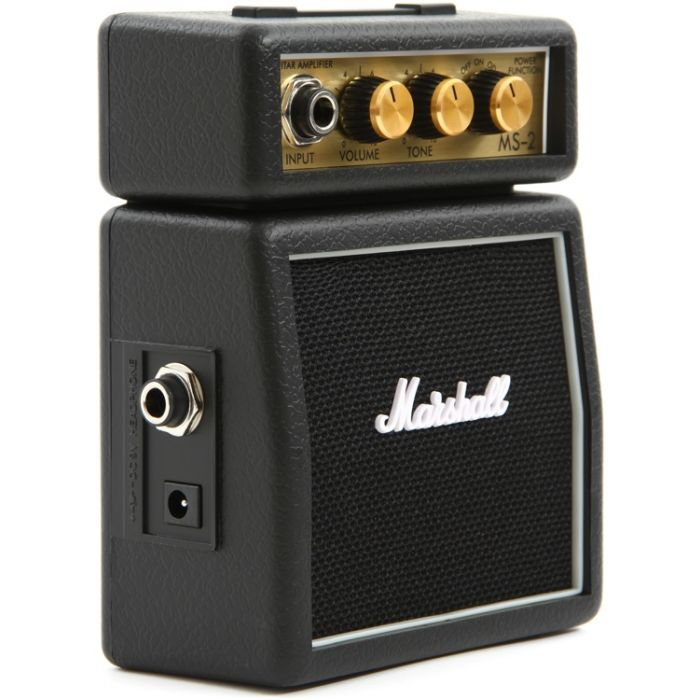 Marshall MS-2 Micro Amp in Black stack
