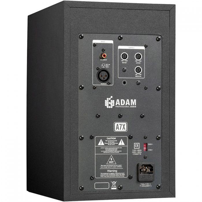Adam Audio A7X Active Studio Monitor Single Rear