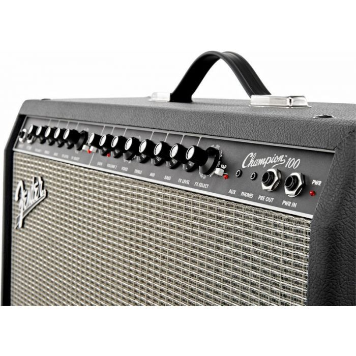 Fender Champion 100 Guitar Amplifier Combo Angle