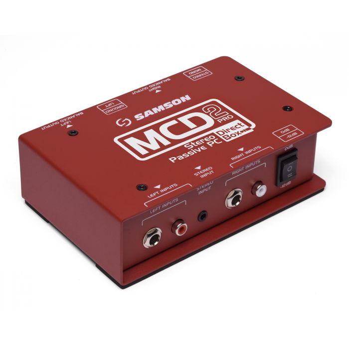 Samson S-MAX MD2PRO Stereo Passive Direct Box
