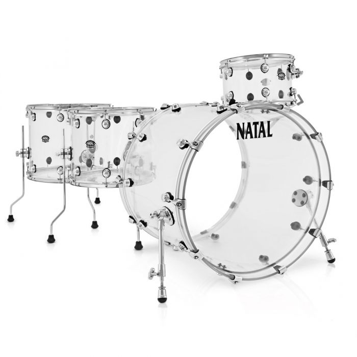 Natal Arcadia Acrylic AA2 Shell Pack in Transparent