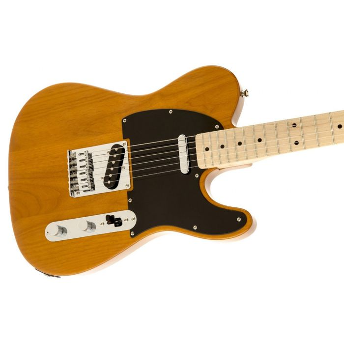 Squier Affinity Telecaster, MN, Butterscotch Blonde Angle