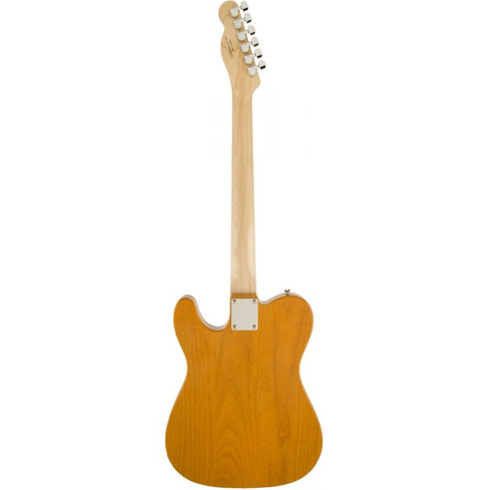 Squier Affinity Telecaster, MN, Butterscotch Blonde Rear