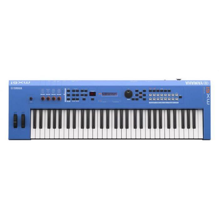 Yamaha MX61 Version 2 Synthesizer 61 Key Edition, Blue