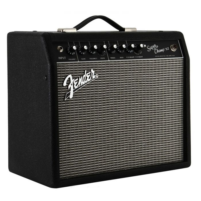 Fender Super Champ X2 Guitar Amplifier Combo Angle