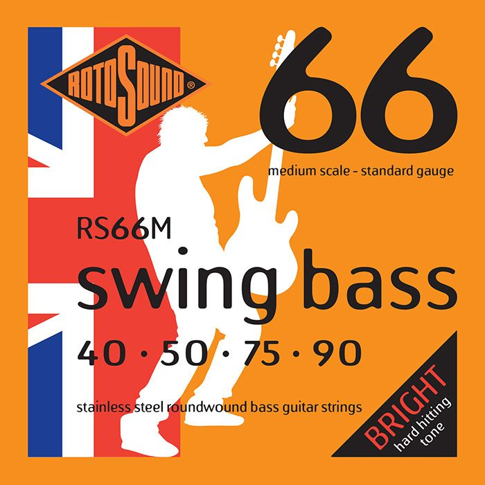 Rotosound Swing Bass STD SET 40-90