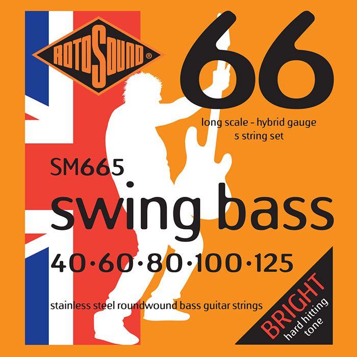 Rotosound Swing Bass SET 40-125
