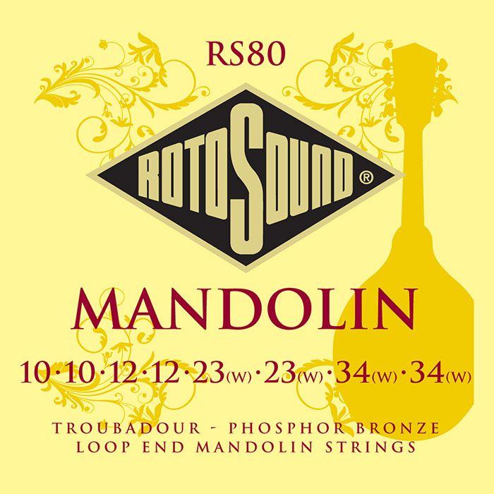 Rotosound Troubadour Mandolin String set