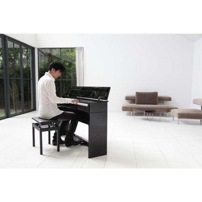 Roland DP603-PE Digital Piano, Gloss Black Artist