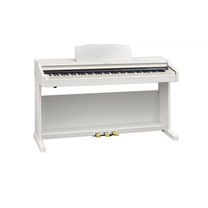 Roland RP501R-WH White Angle