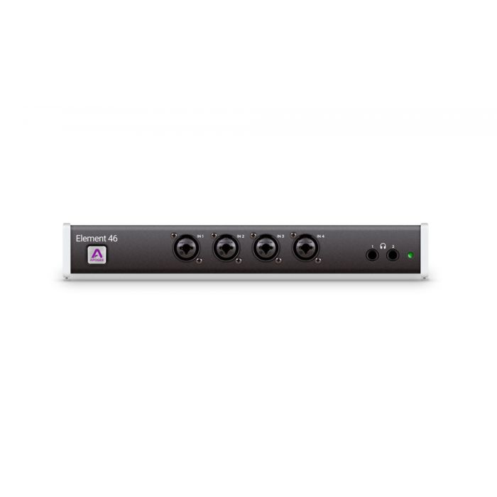 Apogee Element 46 Thunderbolt Audio Interface Front