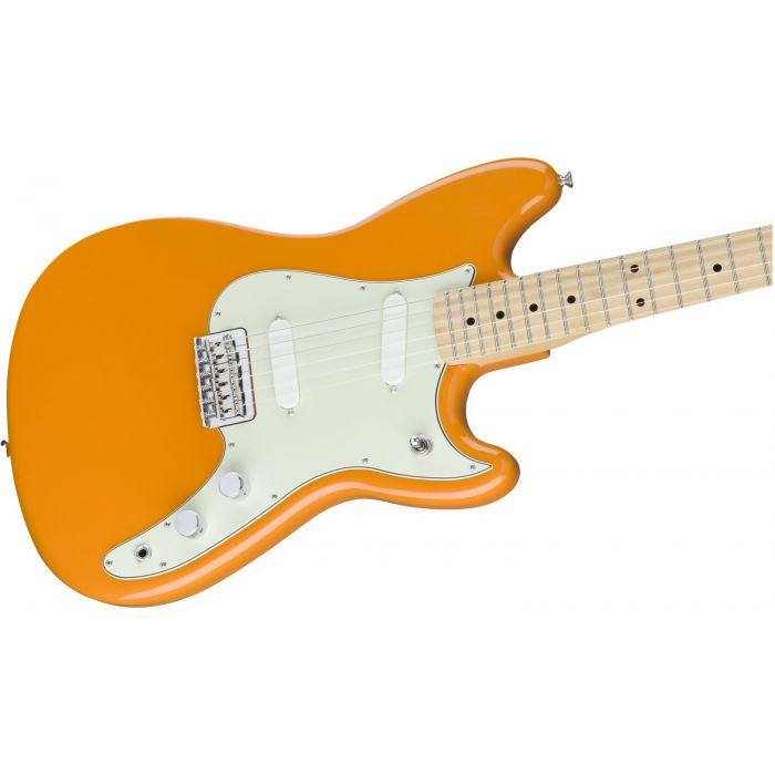 Fender Electric Guitar Orange Offset Body Duo Sonic