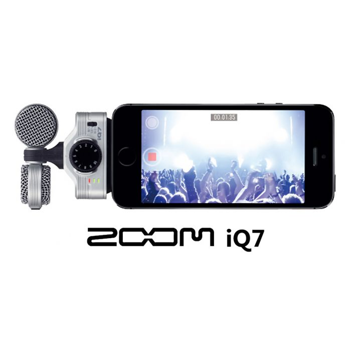 Zoom IQ7 Recorder for iPhone Lightning