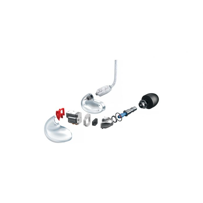 Shure SE846 Sound Isolating Earphones (Clear Version Pictured)