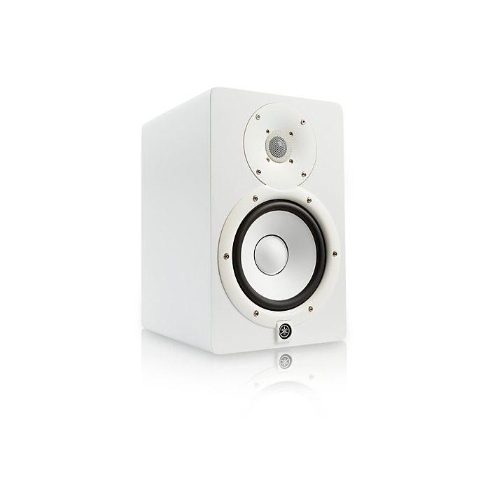 Yamaha HS7 Active Studio Monitor, White Angle