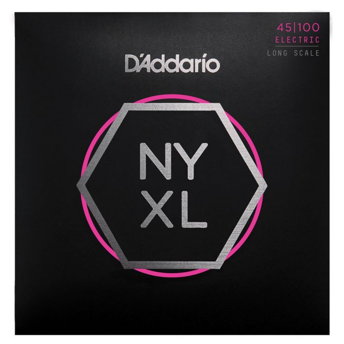 Daddario NYXL45100 Bass Strings, Regular Light, 45-100, Long Scale