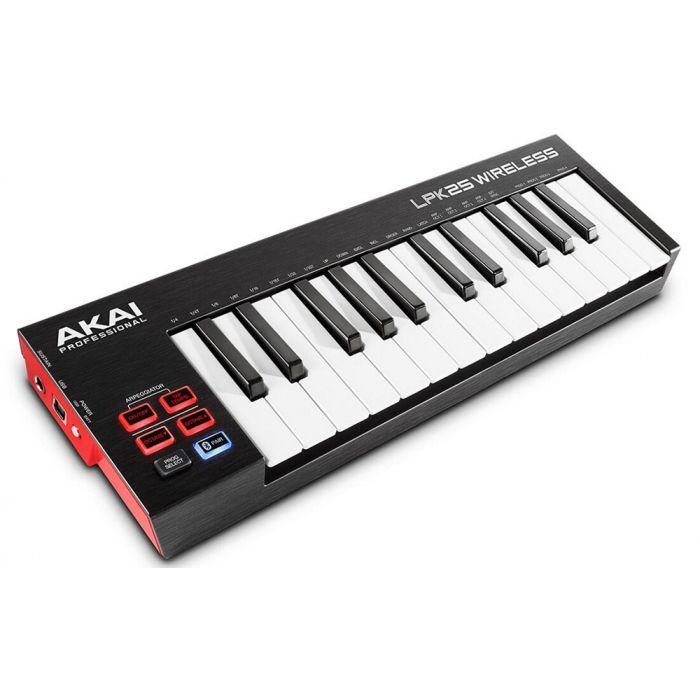 Akai LPK25 Wireless MIDI Keyboard Angle