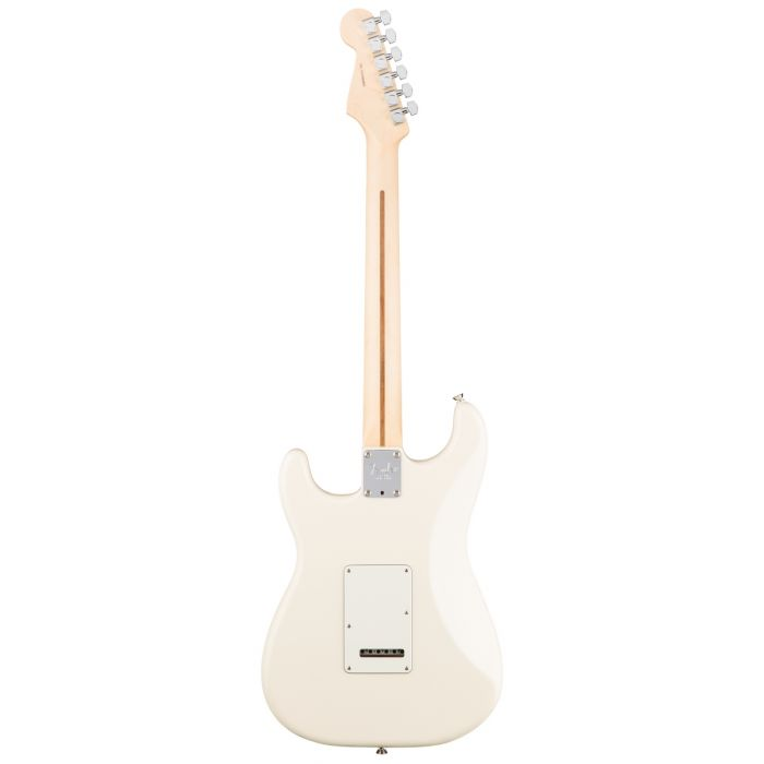 Fender American Professional Stratocaster RW, Olympic White Rear