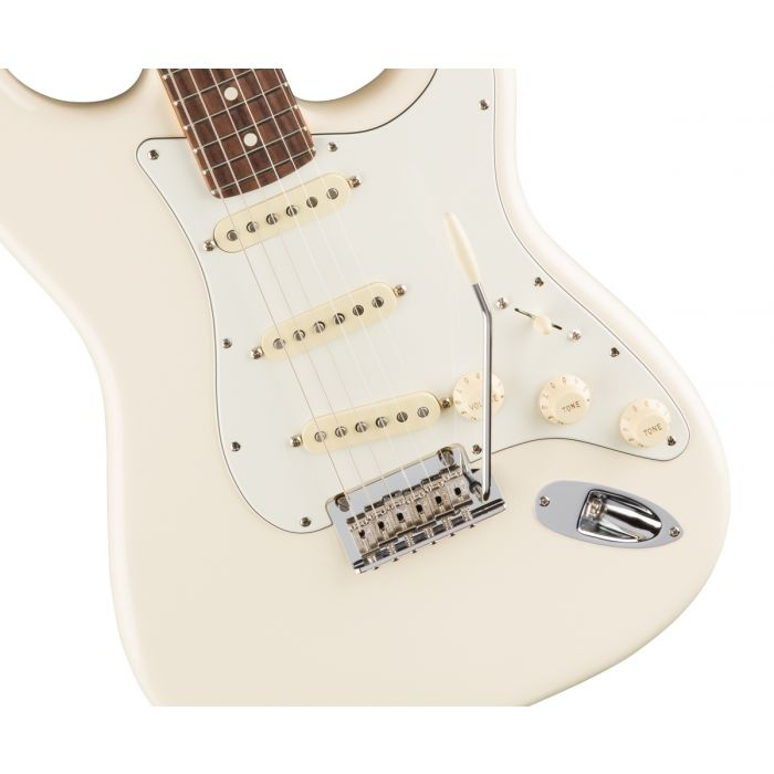 Fender American Professional Stratocaster RW, Olympic White Body