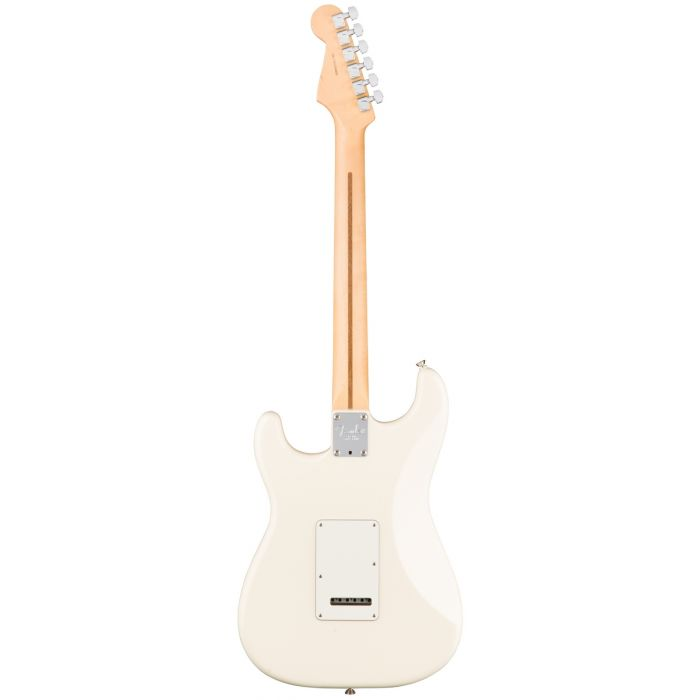 Fender American Professional Stratocaster MN, Olympic White Rear