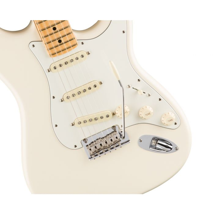 Fender American Professional Stratocaster MN, Olympic White Body
