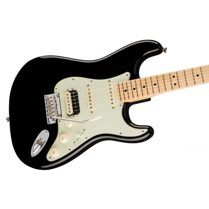 Fender American Professional Stratocaster HSS, MN Black Angle