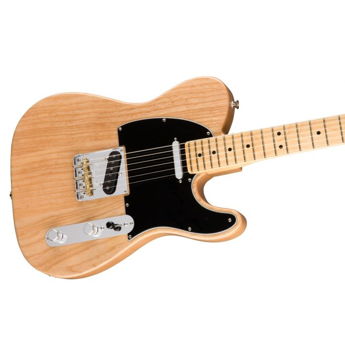 Fender American Professional Telecaster Ash MN, Natural Angle