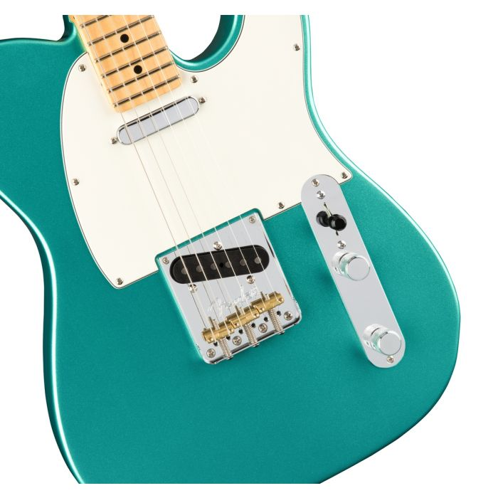 Fender American Professional Telecaster MN, Mystic Seafoam Angle