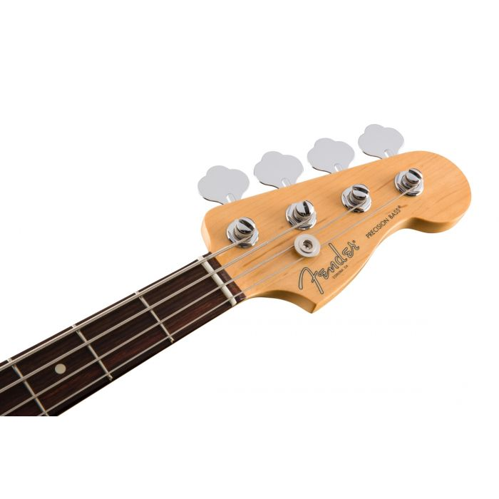 Fender American Professional Precision Bass RW, Olympic White Headstock