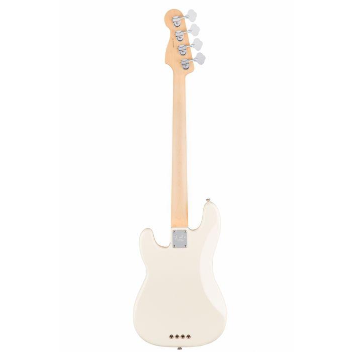 Fender American Professional Precision Bass RW, Olympic White Rear