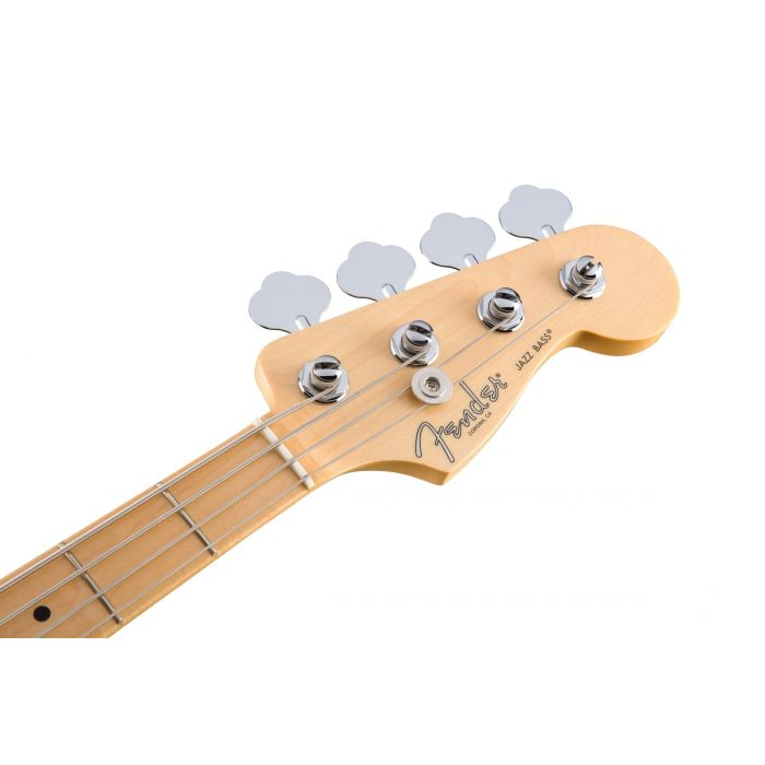 Fender American Professional Jazz Bass MN, Olympic White Headstock