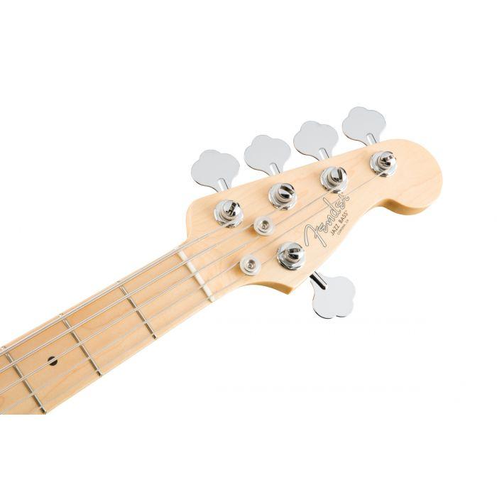 Fender American Professional Jazz Bass V MN, Black Headstock